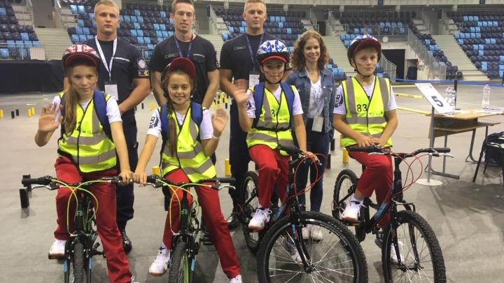 Тюменские школьники выиграли европейский конкурс по безопасности дорожного движения в Венгрии