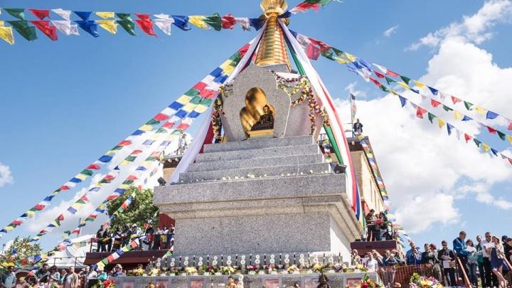 Что было на открытии буддийской ступы в Красноярске и зачем она нужна