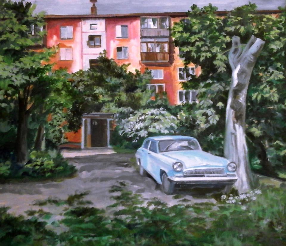 Дом, в котором жил поэт Борис Рыжий
