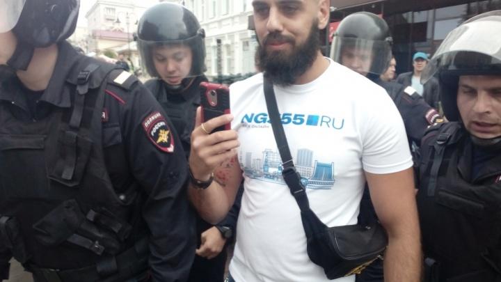 НГС подал заявление в прокуратуру по поводу задержания журналиста