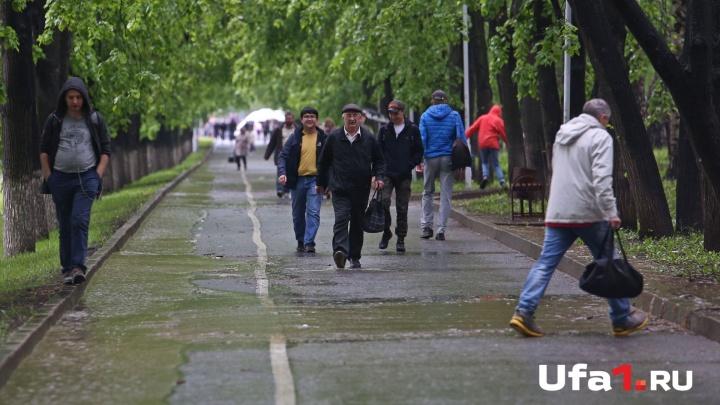 Ливни, грозы и град: какая погода ждет Башкирию сегодня