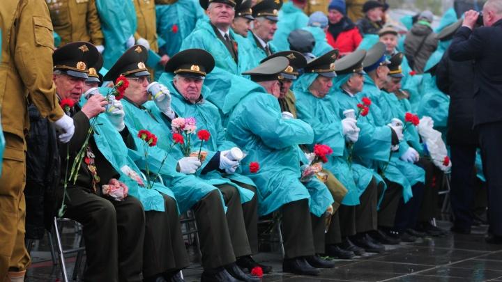 Приглашений не нужно: все ветераны смогут посмотреть парад Победы в Екатеринбурге с трибун