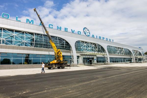 Площадь возле аэропорта отремонтируют за 1,1 миллиарда рублей