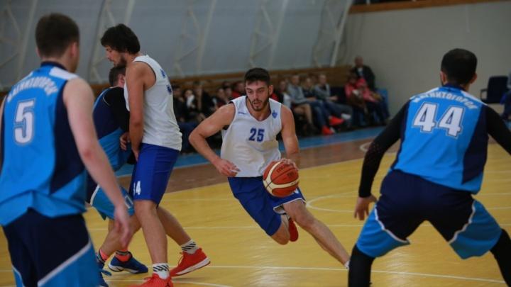 Баскетболисты «Уфимца» на домашнем турнире выиграли первый трофей в сезоне