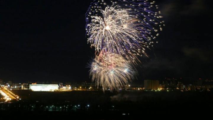 Каким красноярцы увидели праздничный салют на День Победы
