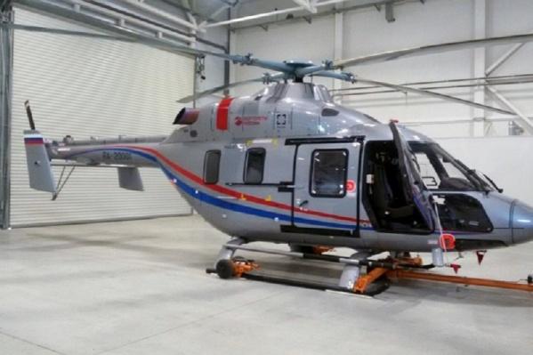 В Волгограде сейчас две вертолётные площадки санавиации