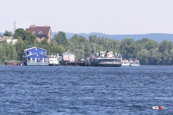 Судно нашли у пристани в Рождествено