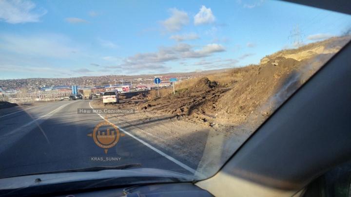 «Проезжую часть пока трогать не будем»: начались работы по расширению Северного шоссе