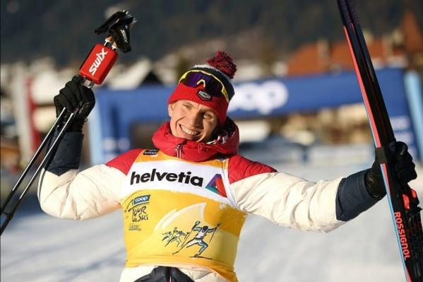 Соревнования в Италии Александр Большунов закончил победой