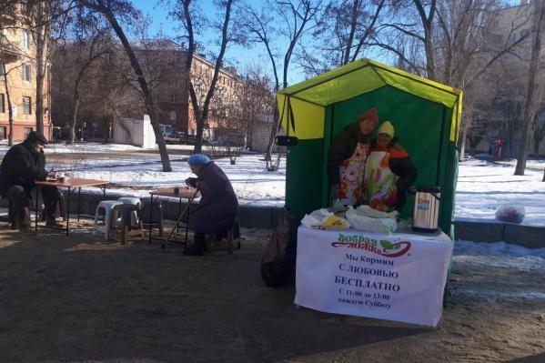 Пользуются бесплатной кухней в основном пенсионеры
