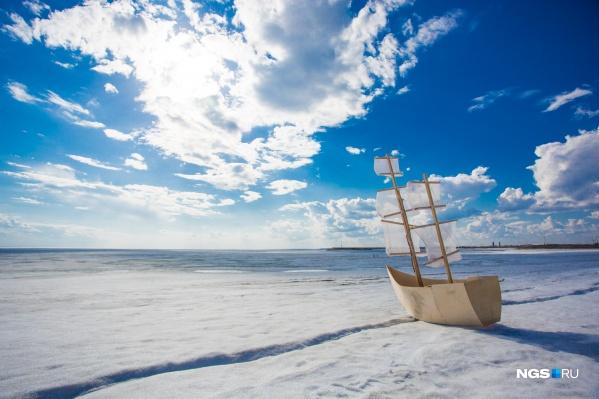 К Новосибирску приближается весенняя погода