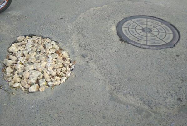 В Волгограде яму-ловушку для шестилетней девочки спрятали за слоем щебня