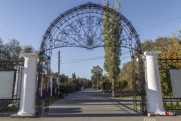 Можно прийти в Комсомольский сад просто прогуляться, а в итоге узнать много интересного из истории Волгограда