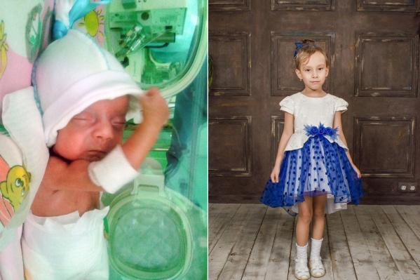 Маленькая Василя появилась на свет на 27-й неделе беременности