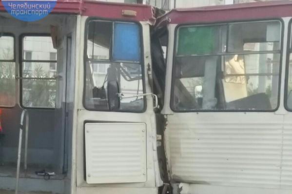 Авария произошла на оживлённом перекрёстке
