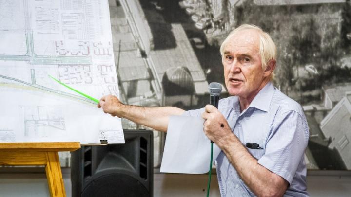 Проект застройки территории у мемориала «Золотая горка» отложили до сентября