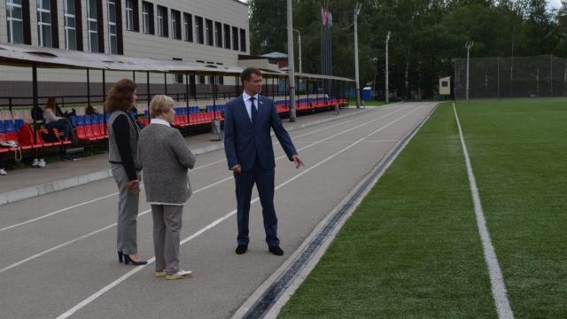 В гимназии №1 к первому сентября откроется новый стадион