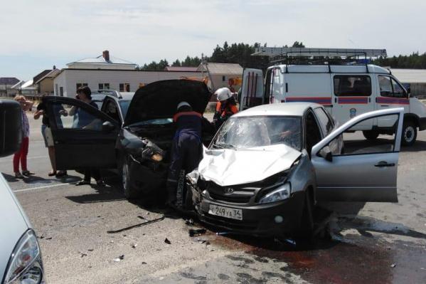 Авария в Шолоховском районе Ростовской области