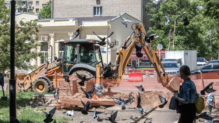 В июне для пешеходов закроют переулок в центре Ростова