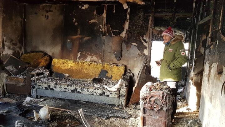 Жена в больнице с сердечным приступом: в Башкирии семья с 4-летним ребенком потеряла в пожаре все