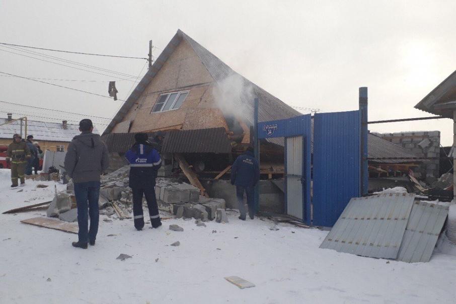 Дом разрушен из-за самовольного подключения к газовой сети