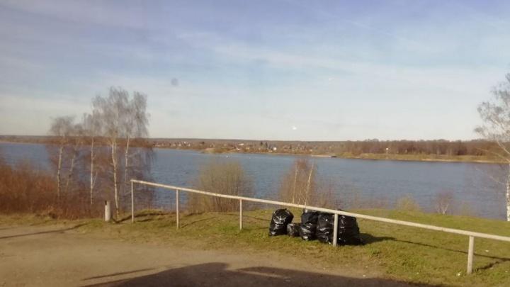 «Осталось только нам на голову вывалить»: собранным на субботниках мусором заваливают Ярославль