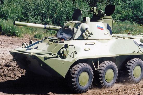 «Нона-СВК» оснащена 120-миллиметровым орудием