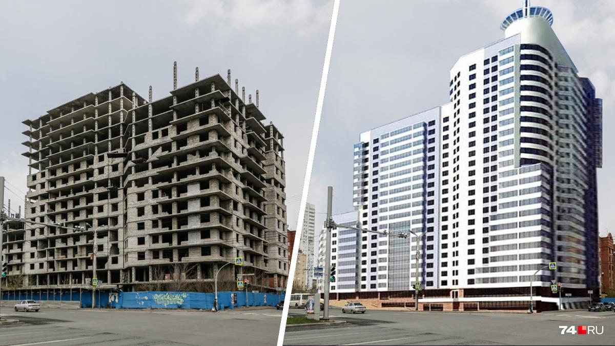 Сравниваем, как здания выглядят сейчас и как они должны были выглядеть по эскизам