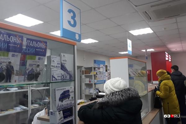 О поборах на почте стало известно зимой