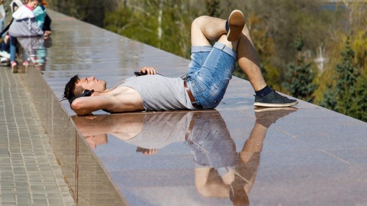 Синоптики обещают волгоградцам перемежающиеся с жарой до +31º дожди