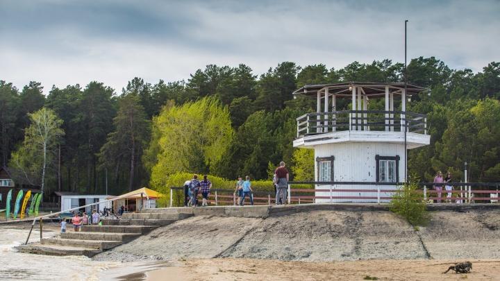 В парке «У моря Обского» появится уличный кинотеатр