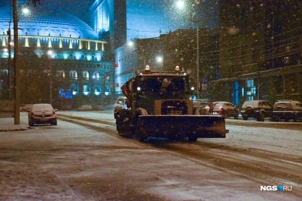 Предстоящий снегопад прибавит работы коммунальным службам