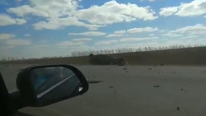 Затор на несколько километров: в Башкирии на трассе М-5 разбился 25-летний парень наNissan Primera