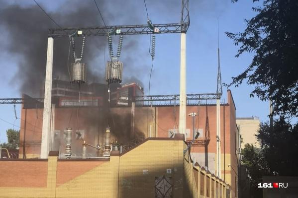 Взрыв произошел недалеко от главного ж.-д. вокзала