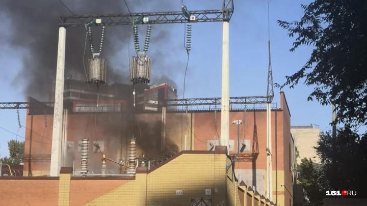 На Гвардейской площади на подстанции произошел взрыв