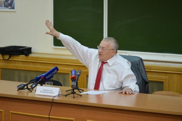 Владимир Жириновский призвал восстановить Аллу Елпашеву на работе