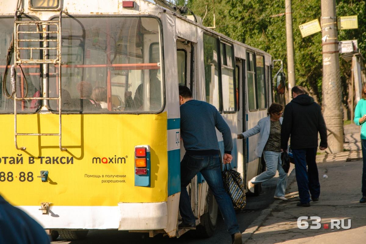Троллейбусы будут работать по укороченному маршруту в выходные