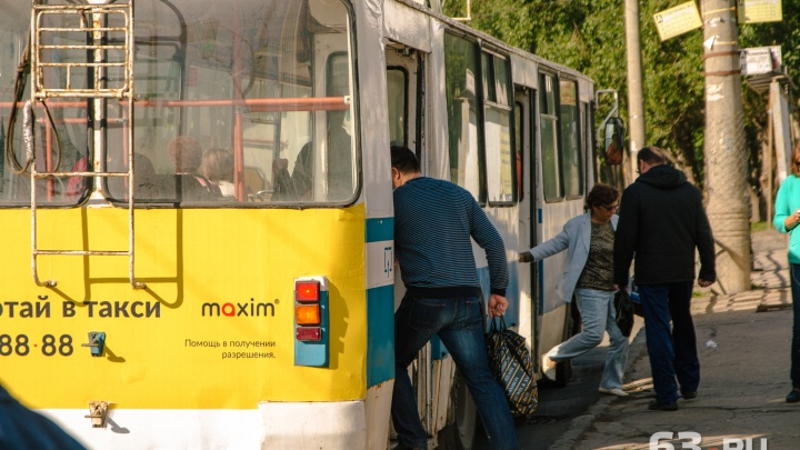 В Самаре на два дня укоротят троллейбусный маршрут №7