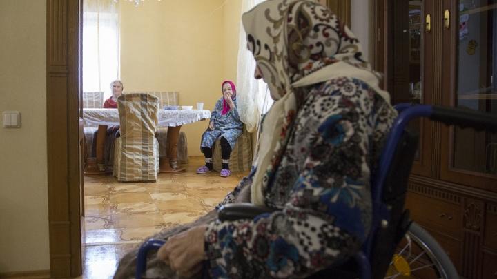 В Башкирии вдова участника ВОВ живет в аварийном доме
