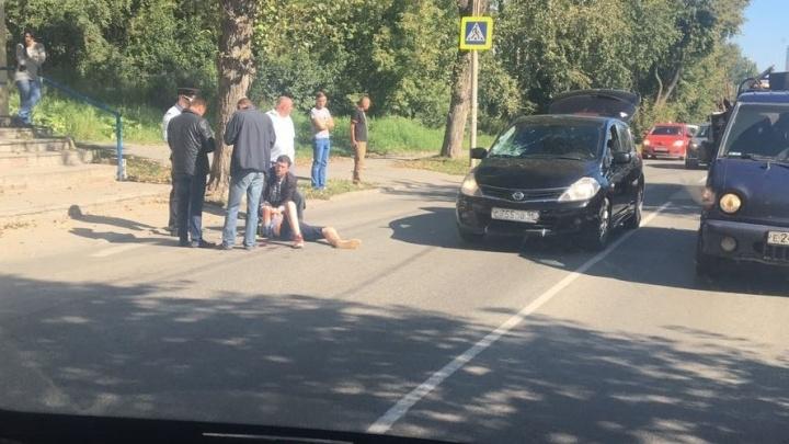 На Уктусе поставят ограждения вдоль дороги, где иномарка сбила 13-летнего подростка