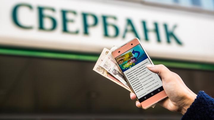 Новосибирцы смогут получить деньги за «Спасибо» от Сбербанка