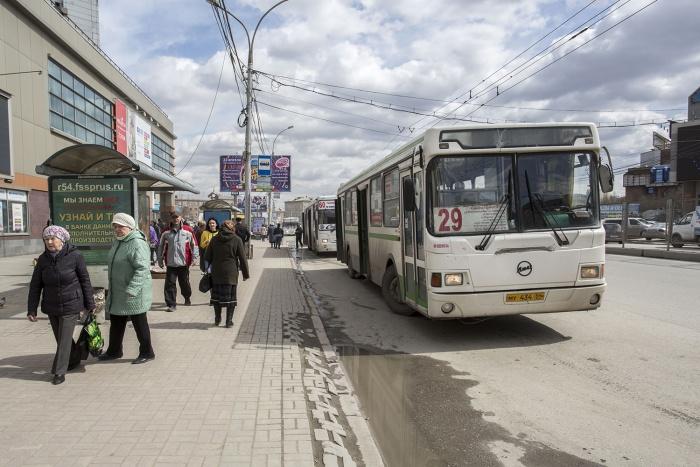 Инцидент произошел в автобусе  № 29