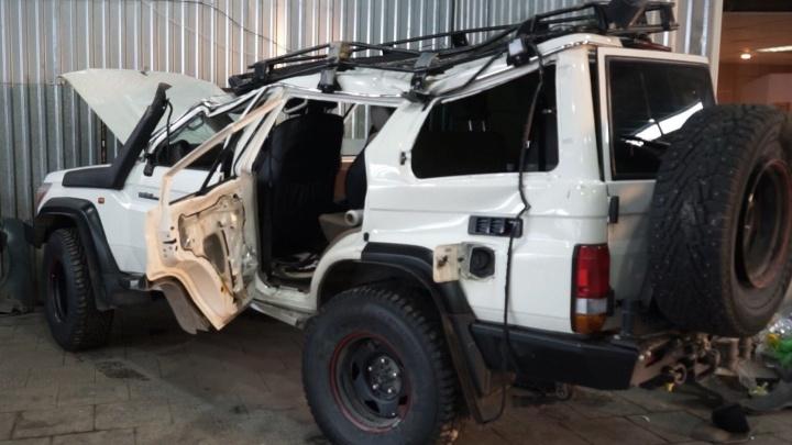 Вчера на машину было больно смотреть, а сегодня она как новая: на Урале обрушили цены на кузовной ремонт