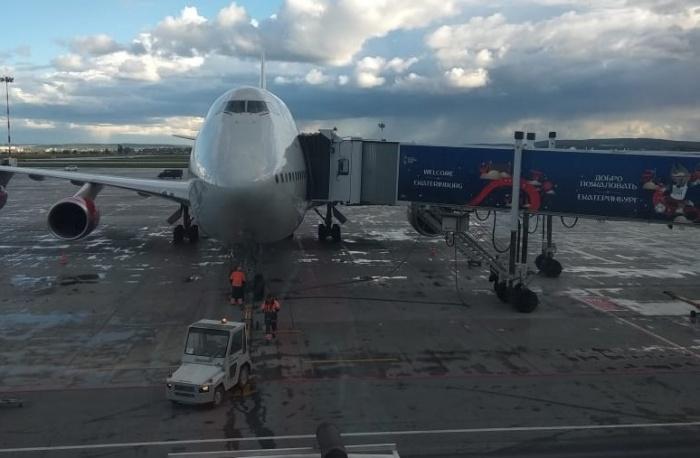 Самолёт задержали по техническим причинам