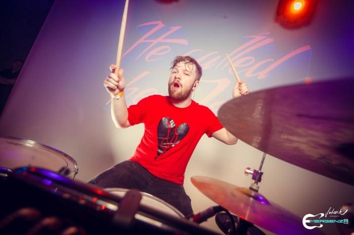 Барабанщик группы He called her Jen Данил Могильный на финале в Новосибирске