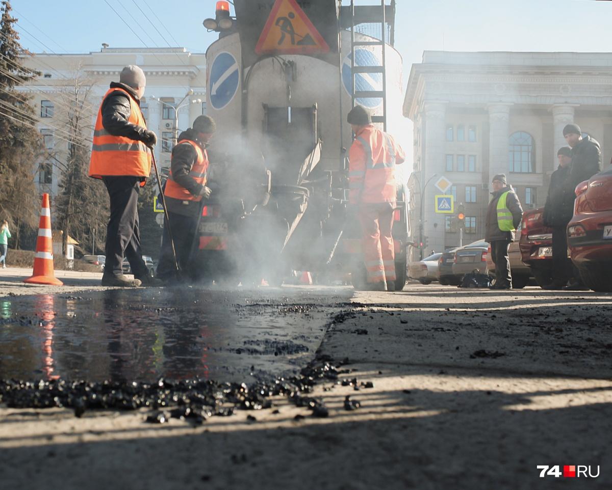 На торги по ремонту дорог может заявиться новая компания