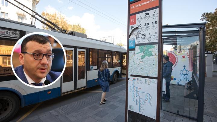 В департаменте транспорта Ростова рассказали, как будут бороться со «свистками» на остановках