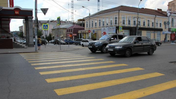 После смертельной аварии на перекрёстке улицы Ленина сделали пешеходный переход