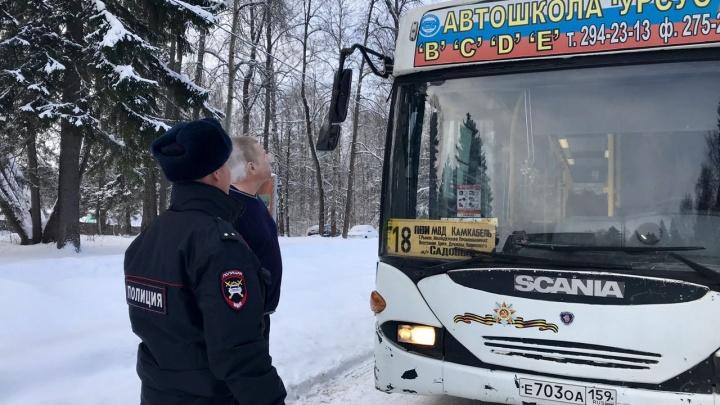 Нашли 51 нарушение: в Перми ГИБДД устроила рейд по автобусам