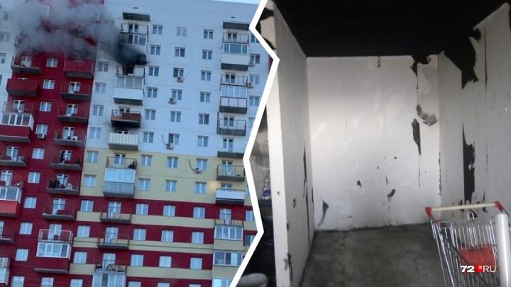Выбила входную дверь, чтобы спасти сына: хозяйка квартиры на Пермякова рассказала подробности пожара